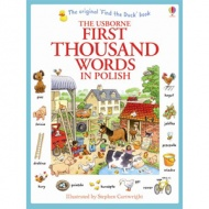Usborne First Thousand Words in Polish