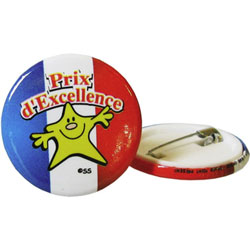 French Reward Badges - Prix d'Excellence (Pack of 20)