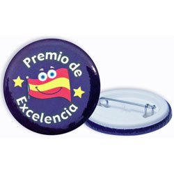 Spanish Reward Badges - Premio de excelencia (Pack of 20)