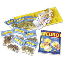 Play Euro Money Classroom Kit