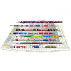 French Reward Pencils - Bumper Value Pack (96 Pencils)