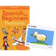 Usborne Spanish for Beginners Flashcards