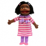 Puppet Buddy - Medium Girl ( Dark Skin )