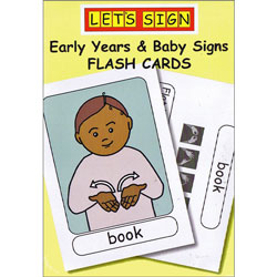 Let's Sign BSL Flashcards: Early Years and Baby Signs