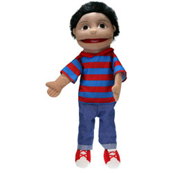 Puppet Buddy - Medium Boy (Olive Skin)