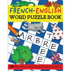 French - English Word Puzzle Book