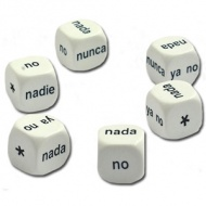 Dice - Spanish Negatives (Set of 6)