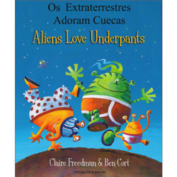 Aliens Love Underpants - Portuguese & English