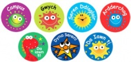 Welsh Reward Stickers (Mixed Pack of 125)