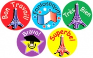 French Mini Stickers - Mixed Pack of 605