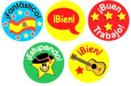 Spanish Mini Stickers - Mixed Pack of 605