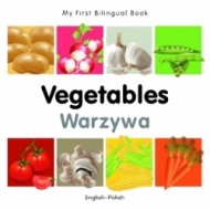 My First Bilingual Book - Vegetables (Polish - English)