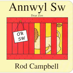 Annwyl Sw / Dear Zoo (Welsh & English)