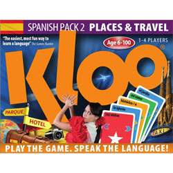 KLOO® Spanish Games: Pack 2 (Places & Travel)