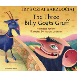 The Three Billy Goats Gruff: Lithuanian & English