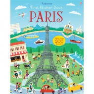 Usborne First sticker book: Paris