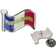 French Award - Enamel Badge (Single)