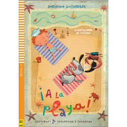 ELI Young Spanish Readers: Level 1 -  ¡ A la Playa !