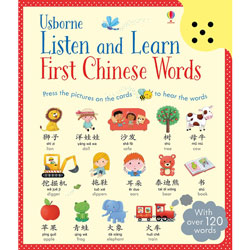 Usborne Listen and Learn First Chinese Words