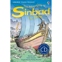 Usborne English Learner's Editions 4: Upper Intermediate - The Adventures of Sinbad the Sailor