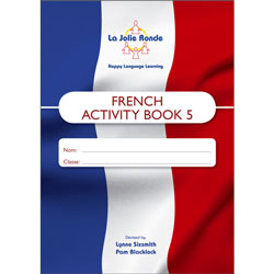 La Jolie Ronde Scheme of Work for French - Pupil Activity Books For Year 5 (Pack of 10)