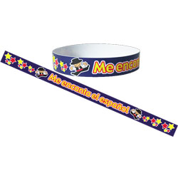 Spanish Wristbands: Me Encanta el Español  (Pack of 30)