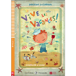 ELI Young French Readers: Level 1 -  Vive les vacances !