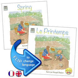 Spring / Le Printemps (French - English)