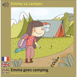 Emma va camper / Emma Goes Camping - French & English