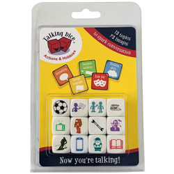 Talking Dice™ Set: Actions & Hobbies