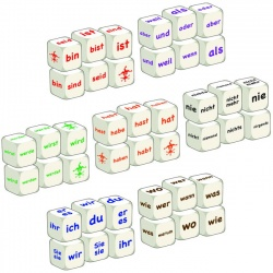 German Word Dice - Class Set