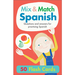 Hello Spanish! Mix & Match Spanish Flash Cards