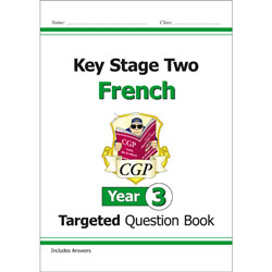 CGP Key Stage Two French: Targeted Question Book (Year 3)