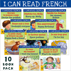 I can read French: 10 Book Bundle