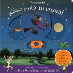 ¡Cómo mola tu escoba! (A push, pull & slide book)