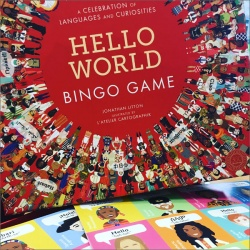 Hello World Bingo Game - A celebration of languages and curiosities