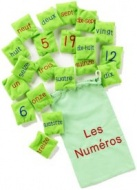French Bean Bags - Numbers