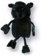Finger Puppet - Baa Baa Black Sheep